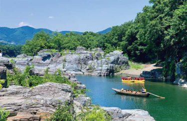 連なる奇岩と清らかな渓谷 雄大な景色が広がる長瀞へ